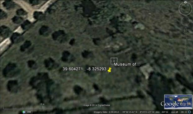 museum of... on google earth